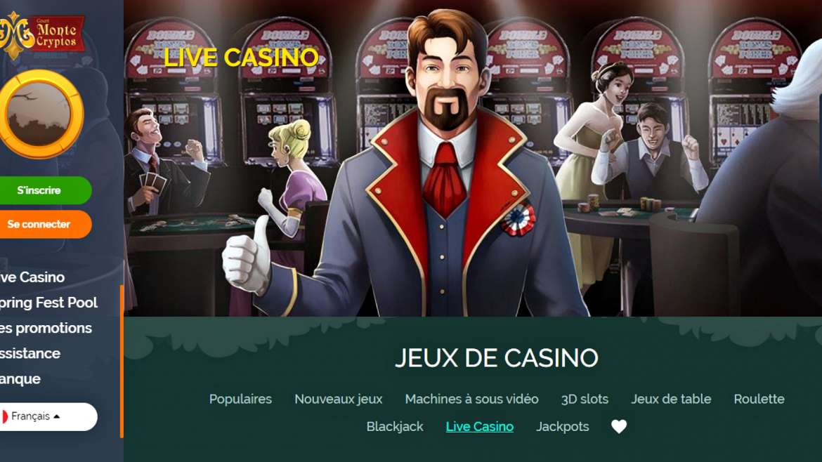 Retrait Montecryptos casino : comment ça marche ?